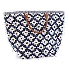 Fresh American Le Tote Navy/Ivory Tote Bag Grand