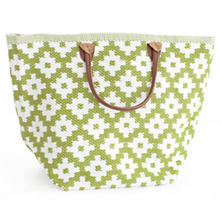 Le Tote Sprout/White Tote Bag Grand
