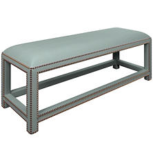 Estate Linen Sky Lexington Bench