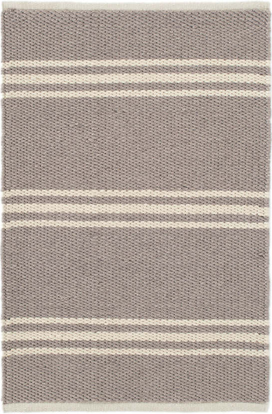 Wonderful Lexington Grey/Ivory Indoor/Outdoor Rug