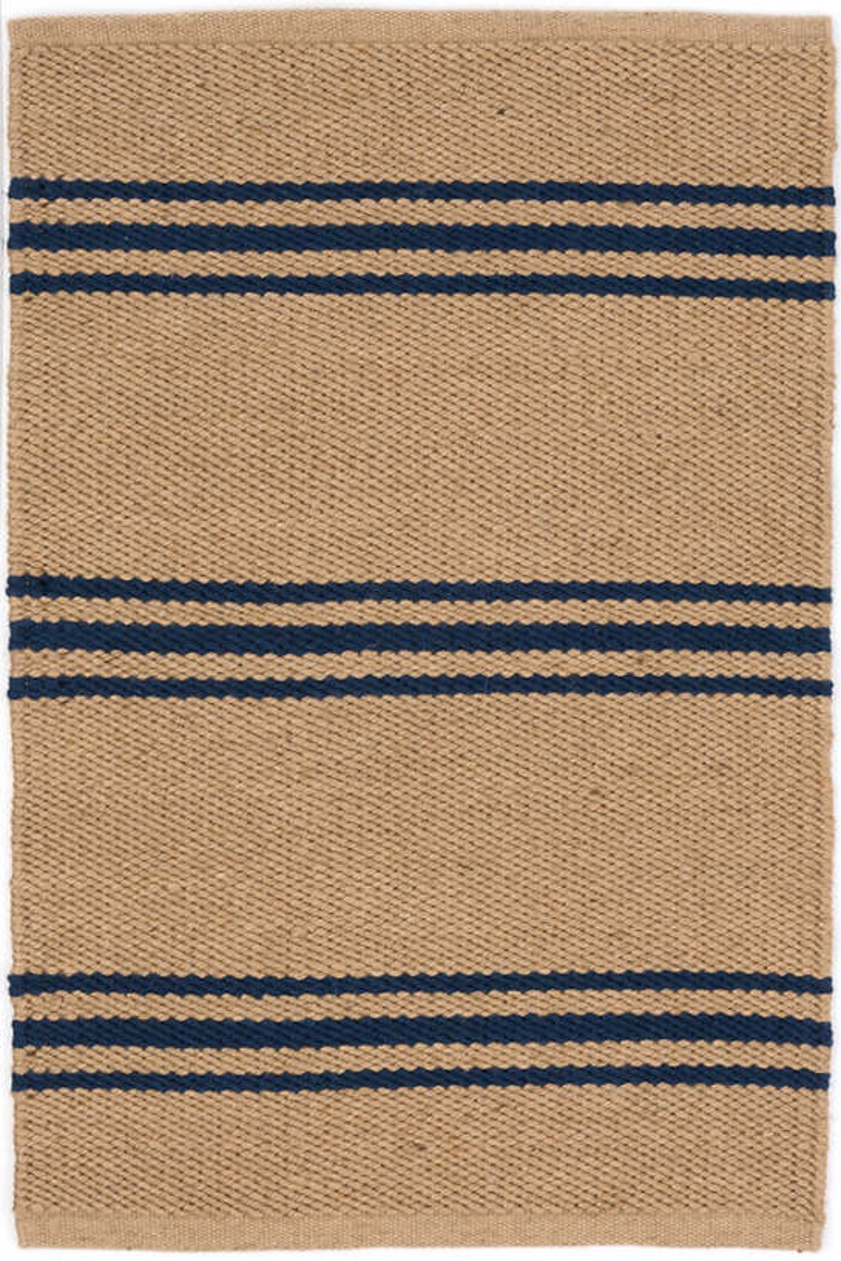 Lexington Navy/Camel Indoor/Outdoor Rug