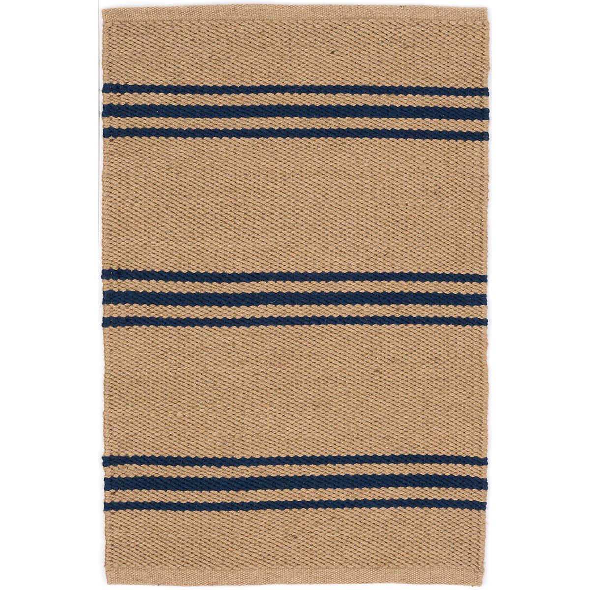 Blue Outdoor Rug 9x12: Lexington Navy/Camel Indoor/Outdoor Rug