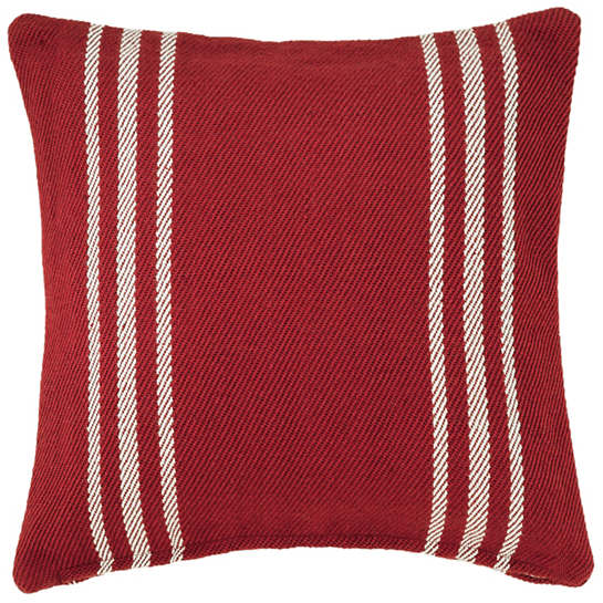 Lexington Red/White Indoor/Outdoor Pillow