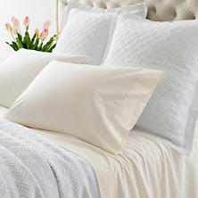 Lia Ivory Fitted Sheet