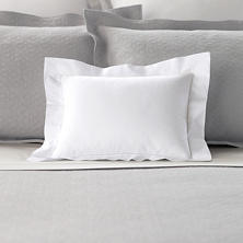 Lia White Decorative Pillow