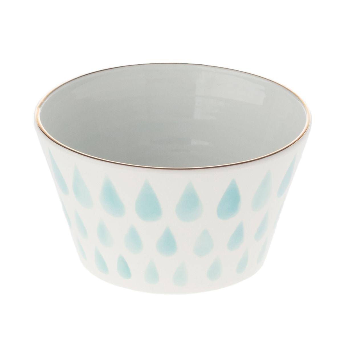 Light Papago Raindrops Bowl