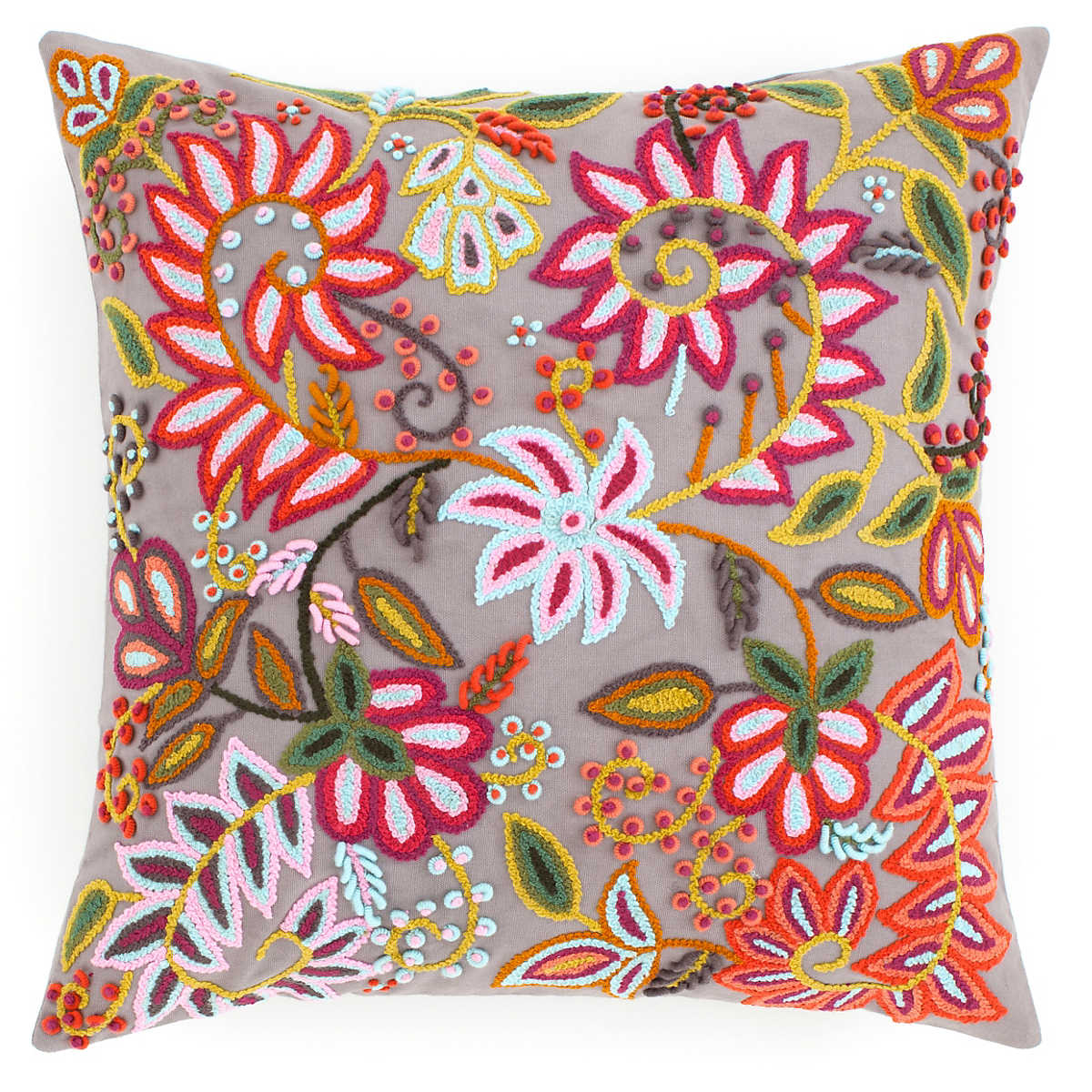 Lima Grey Decorative Pillow The Outlet