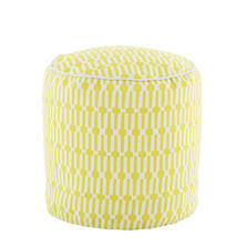 Links Chartreuse Indoor/Outdoor Pouf