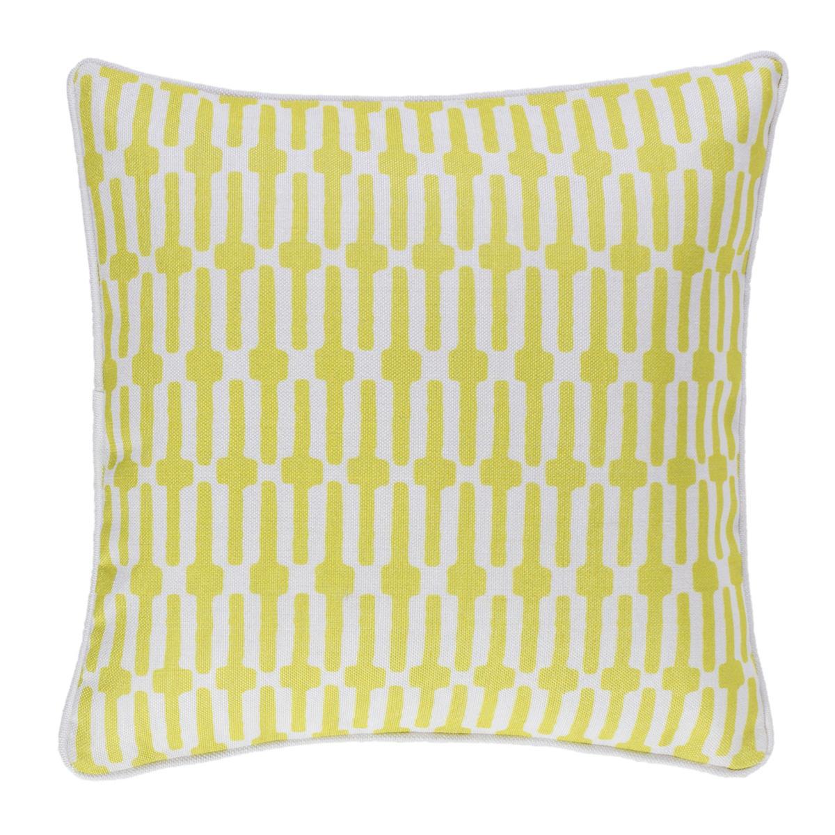 Links Chartreuse Indoor/Outdoor Decorative Pillow