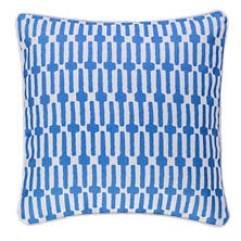 Links Cobalt Indoor/Outdoor Decorative Pillow