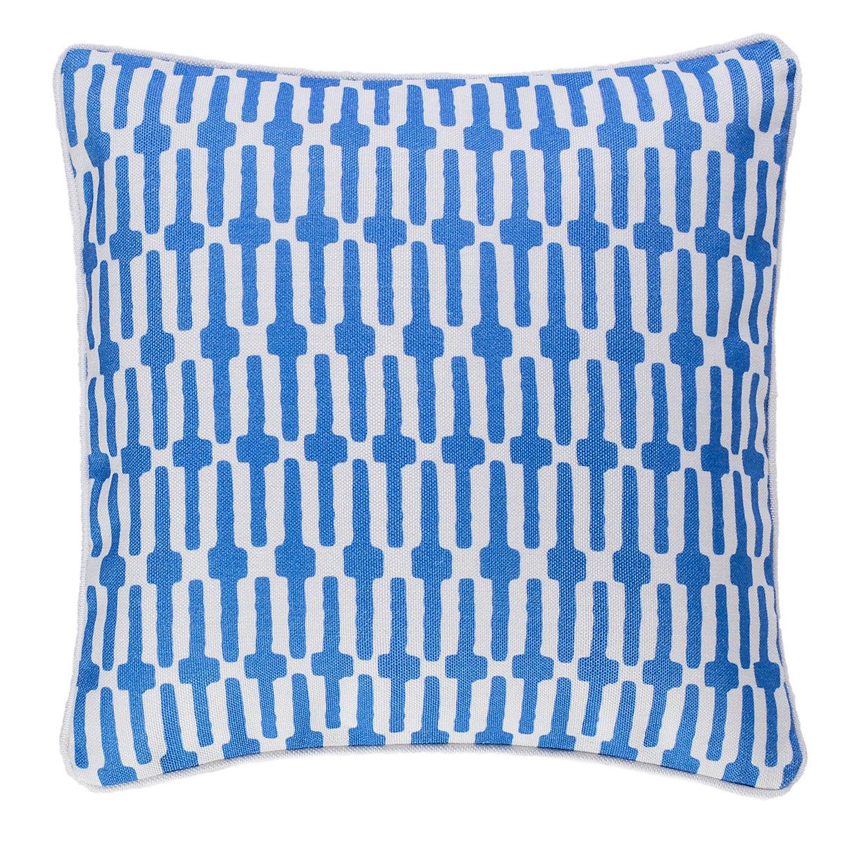 Links Cobalt Indoor/Outdoor Decorative Pillow