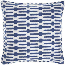 Links Indigo Decorative Pillow