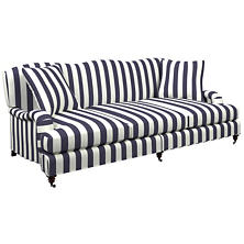 Alex Indigo Litchfield 3 Seater Sofa