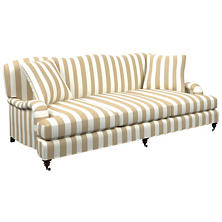 Alex Linen Litchfield 3 Seater Sofa