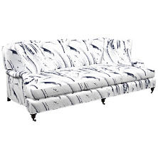 Brushstroke White Litchfield 3 Seater Sofa