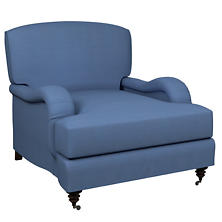 Estate Linen French Blue Litchfield Chair