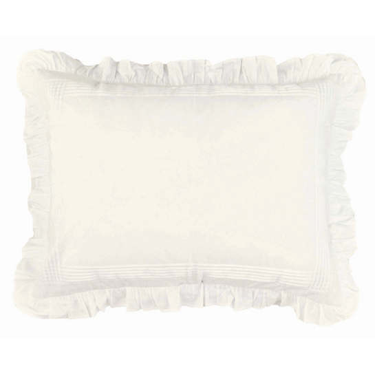 Louisa Ivory Continental Pillow