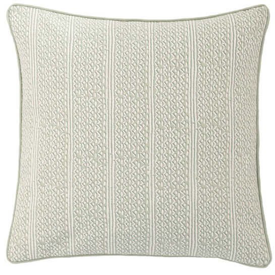 Lucia Linen Pearl Blue Decorative Pillow