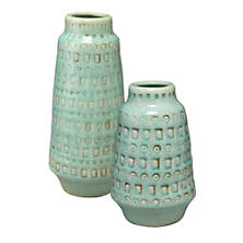 Lucia Blue Vase/Set of 2