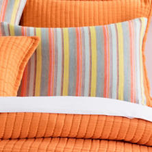 Lyric Stripe Linen Sham