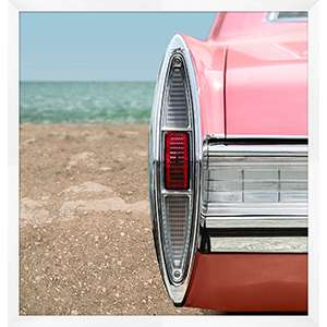 Pink Cadillac 2 Wall Art
