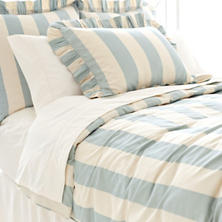 Madeline Stripe Blue Duvet Cover