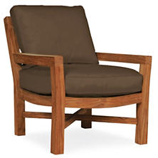 Mahkeenac Outdoor Chair Charcoal Heathered