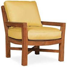 Mahkeenac Outdoor Chair Daffodil Canvas