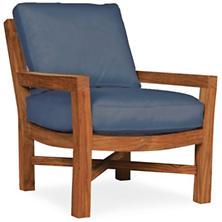 Mahkeenac Outdoor Chair Denim Heathered