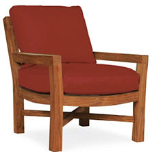 Mahkeenac Outdoor Chair Red Heathered