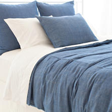 Malaya Chambray Duvet Cover
