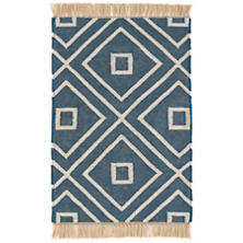 Mali Indigo Indoor/Outdoor Rug