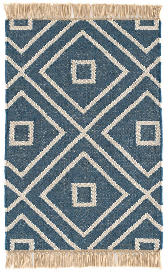 Mali Indigo Indoor/Outdoor Rug | Dash & Albert