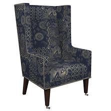 Marianna Linen Neo-Wing Chair