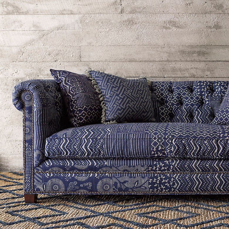 Make Mine Moroccan: New Blue Rugs for Fall | Annie Selke's Fresh American Style