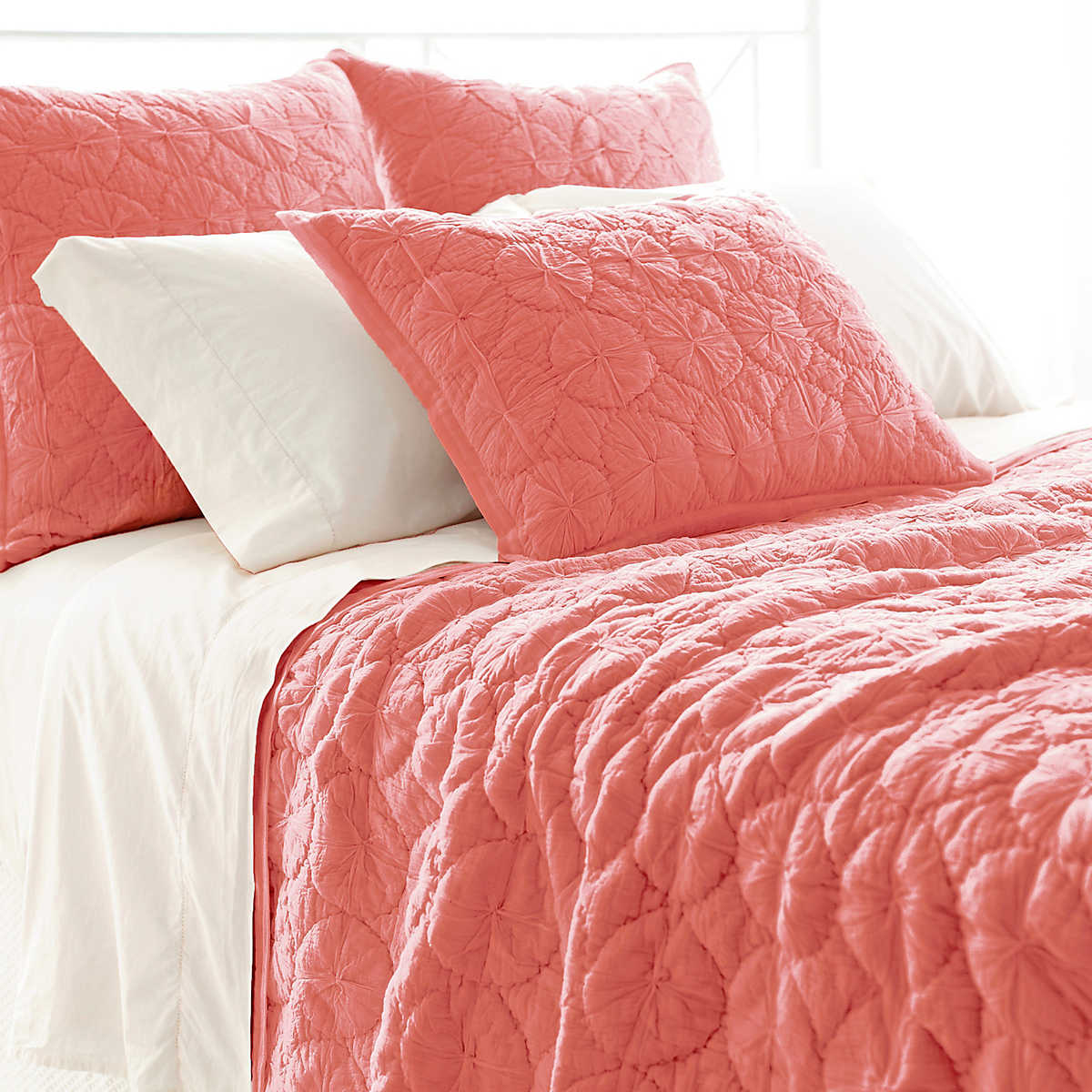 Marina Coral Quilt Pine Cone Hill