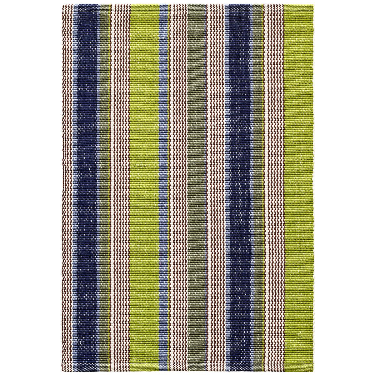 Chic Indoor Outdoor Stripe Rugs 6 Colors Available: Marina Stripe Indoor/Outdoor Rug