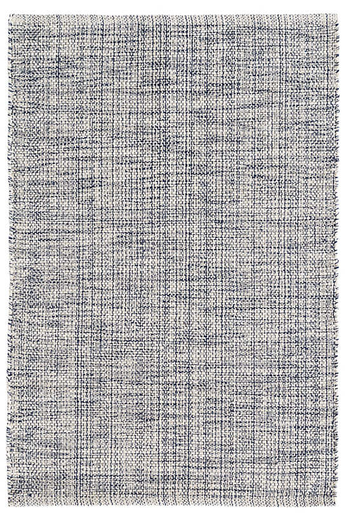Marled Indigo Woven Cotton Rug Dash Amp Albert