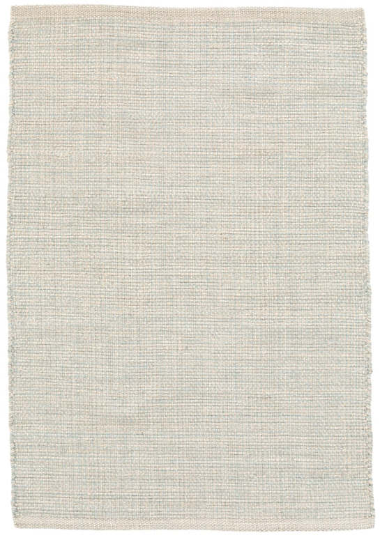 Marled Light Blue Woven Cotton Rug Dash Amp Albert