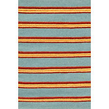Marrakech Stripe Wool Woven Rug