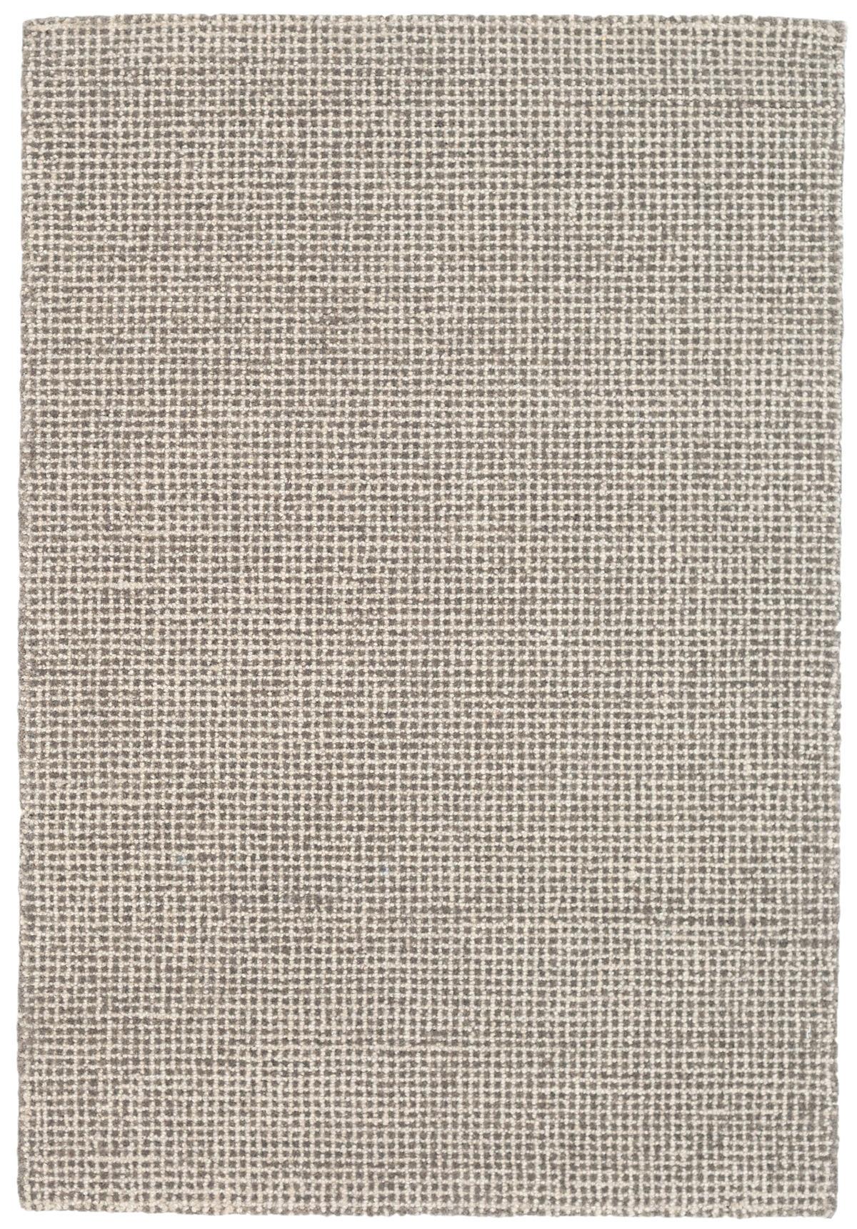 Matrix Grey Wool Tufted Rug