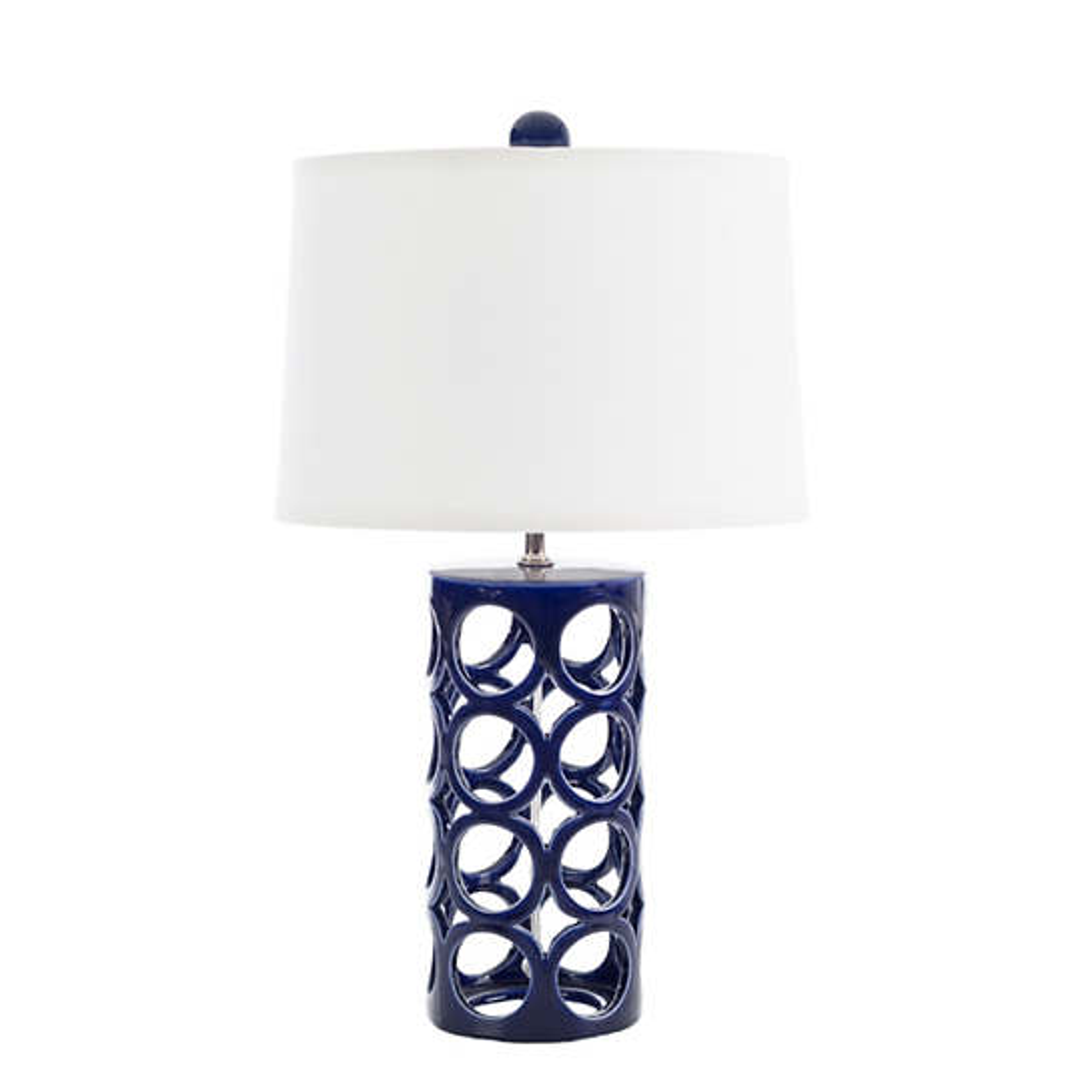 Indigo Medium Cylinder Icu Lamp