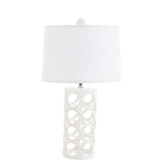 White Medium Cylinder Icu Lamp