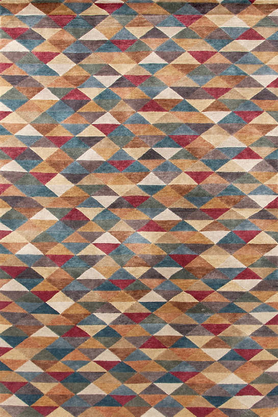 Metropolitan Hand Knotted Rug