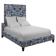 Ming Dove Grey Regency Bed