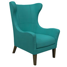 Estate Linen Turquoise Mirage Smoke Chair