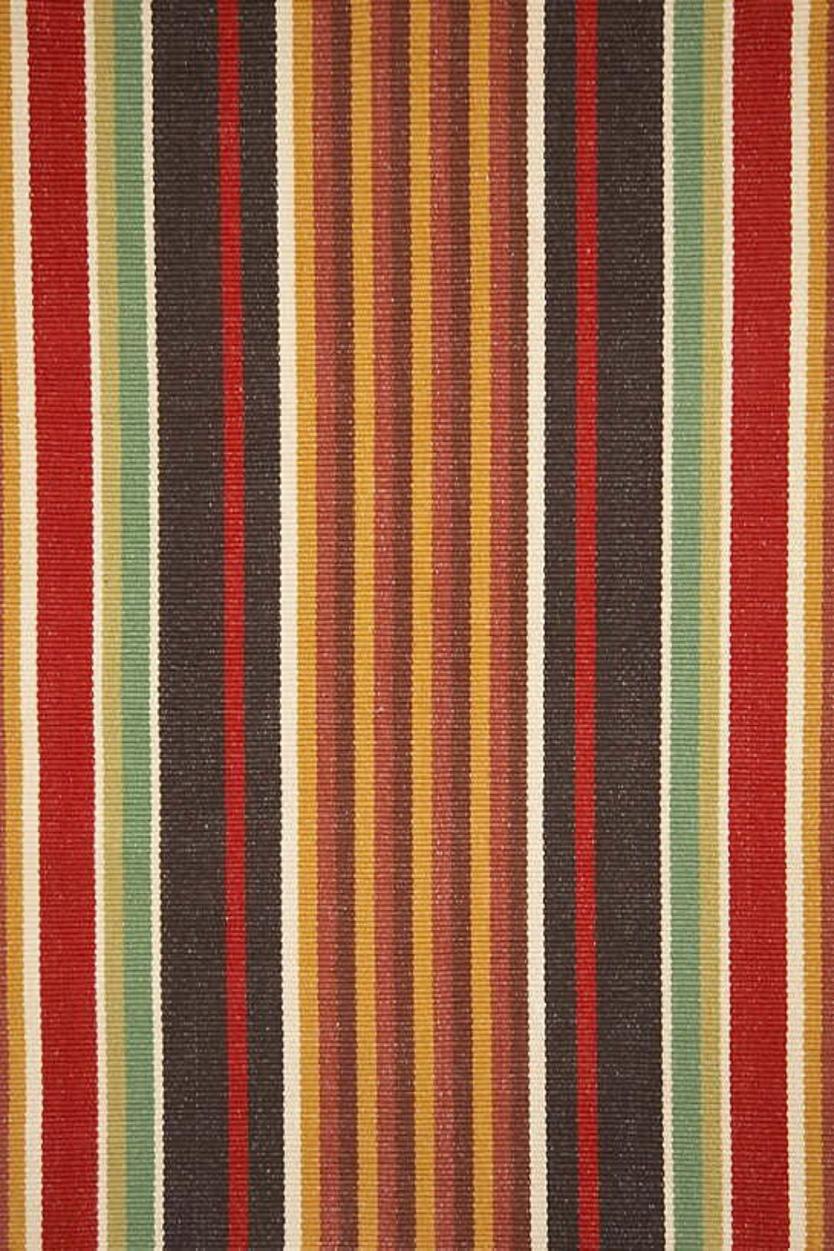 Montana Stripe Woven Cotton Rug