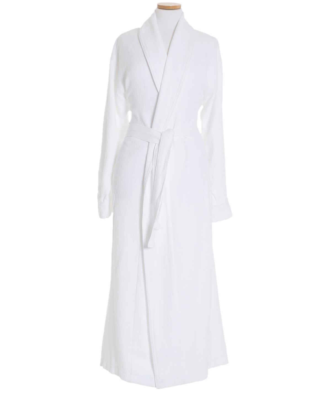Montauk White Long Robe