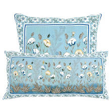 Mughal Flower Decorative Pillow
