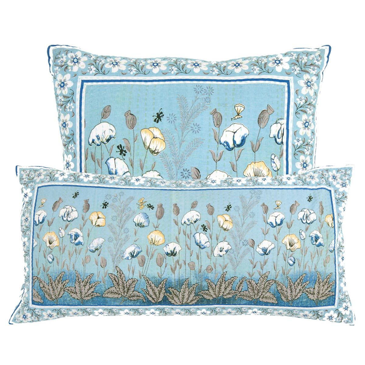 Mughal Flower Decorative Pillow